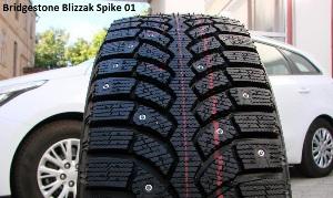 «имн¤¤ шина Bridgestone Blizzak Spike-01 255/55 R19 111T - фото 11
